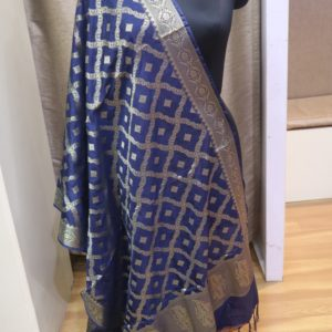 Art Silk Jaal Pattern Dupatta