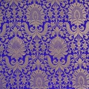 Metallic Brocade Fabric