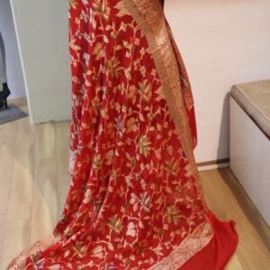 Pure Chiffon Hand Brush dupatta