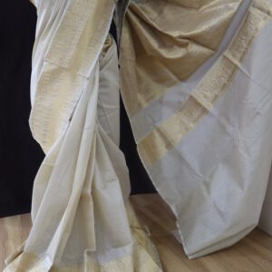 Moonga Handloom Dyeable Saree